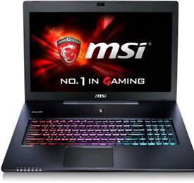 Msi gs70 6qe gaming laptop high spec