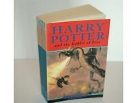 Harry Potter and the Goblet of Fire Paperback First Edition 20th Print