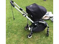 Bugaboo Bee pushchair with accessories