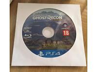 Tom Clancy Ghost Recon Wildlands PS4 game