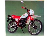 YAMAHA DT50 OR SUZUKI TS50 WANTED