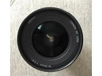 Canon 16-35mm f2.8 EF USM II L Lens