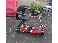 Luggie Folding Mobility Scooter - Less than 1 year old
