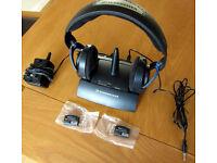SENNHEISER HDR 45 / RS 45 (~900MHz) Wireless Headphones