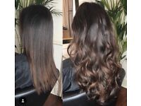Hair Extensions 18 months hair lifespan. Prices start at £279