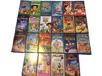 22 Disney Movies VHS