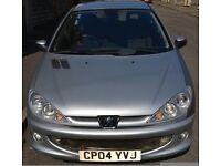 2004 - Peugeot 206 Quicksilver- For Sale.