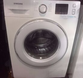 77 Samsung 8kg 1400 Spin White LCD Washing Machine 1 YEAR GUARANTEE FREE DEL N FIT