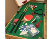 Snooker Table plus Table Tennis & Skeet