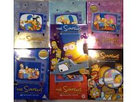 Simpsons Box-sets season 1-7