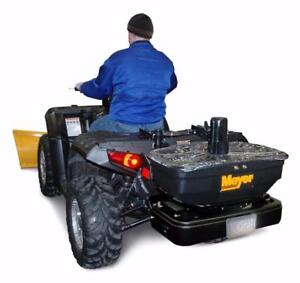 Brand New Meyer ATV Salt Spreader - Meyer Base Line 125 ATV Spreader!