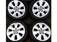 "##CHEAP TO CLEAR## 16"" Genuine alloys Audi A3 VW Golf Caddy Seat Leon."