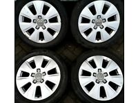 "##CHEAP## 16"" Genuine Audi alloys A3 Golf Caddy Leon."