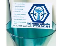 Radz Plumbing, Heating and Bathing Fitting Services