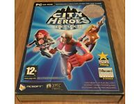 City of Heroes - Deluxe Double Disc - Bonus Exclusive Items PC CD-Rom - As New Condition