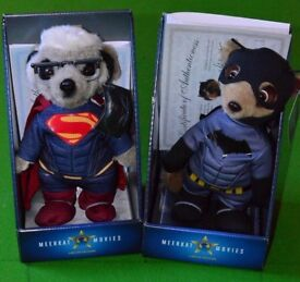 Complete set of 18 Compare the Market Meerkats. Boxed and unopened with certs.