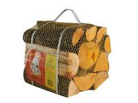 Kiln dried logs - premium mixed hardwood nets 16L (Full, half or quarter pallet)