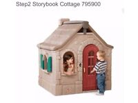 Childrens storybook cottage playhouse
