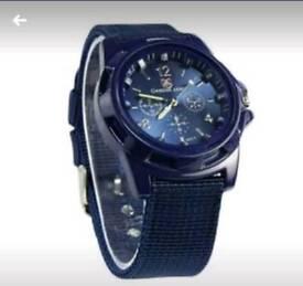Brand new unisex quartz watches with canvas