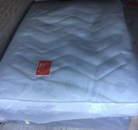 BRAND NEW AIRSPRUNG ORTHOPAEDIC KINGSIZE DIVAN BED AND THICK MATTRESS