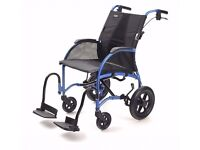 TGA Strongback Wheelchair with detachable motor.
