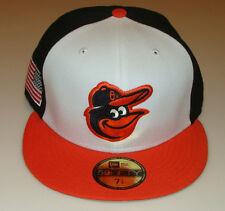 2014 Baltimore Orioles 7 1/4 New Pro Era Hat Cap Baseball MLB USA Flag Patch