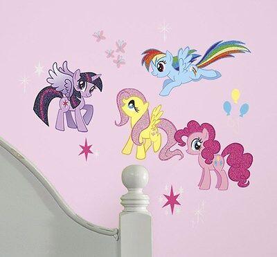 MY LITTLE PONY 31 BiG Wall Decals Cadence Rainbow Dash Room Decor Sticker NEW