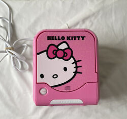 HELLO KITTY CD Player AM/FM Alarm Clock Radio - KT2053A - Sanrio - Tested/Works