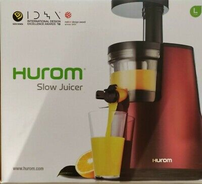 HUROM HH series Slow Juicer 2nd Generation Red perfect condition