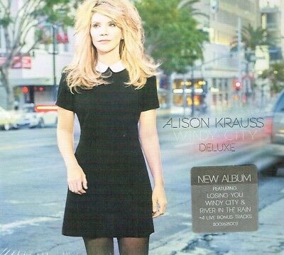Alison Krauss - Windy City CD [Deluxe Edition] + 4 Bonus Tracks Free Shipping - Windy City