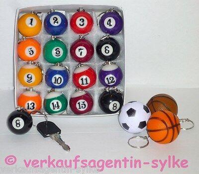 Schlüsselanhänger: Billardkugel massiv, Billard, Kugel, Snookerkugel, Ø ca.3 cm