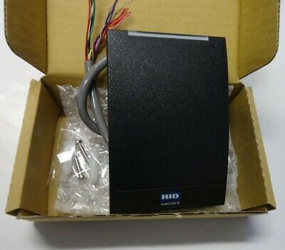 Hid Multiclass Se Rp40 Wall Switch Prox Reader 920ptnnek00000 Wiegand Format