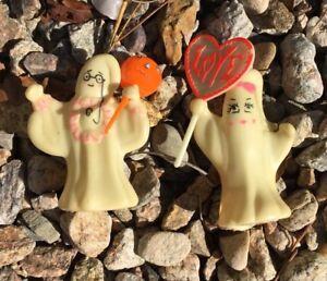 SPOOKY KOOKY 1968 Hasbro Monster Ghost Finger Puppets Glow in the Dark Halloween