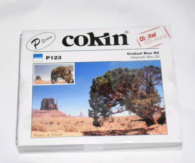 Blue Graduated B2 P Cokin P123 Filter