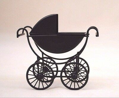 Baby Buggy / Carriage / Pram T8432 miniature dollhouse 1/12 scale for sale  Shipping to India