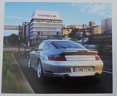 "Porsche Christophorus Calendar, 2001 ""Porsche in Stuttgart and Leipzig"""