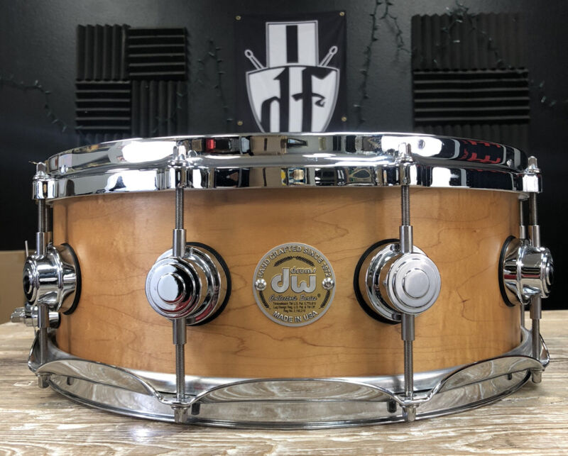 """DW Craviotto 14x5.5"""" Solid Shell Snare Drum"""