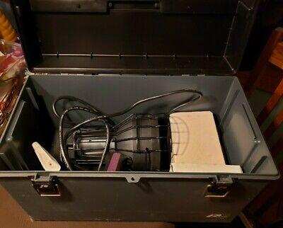 Spectroline Hvld-80gs Leak Detection Kit Nice Shape Extra Uv Light Fixture