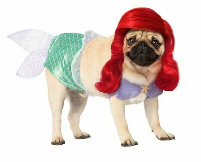 Rubies Disney The Little Mermaid Ariel Pets Dogs Animal Halloween Costume - Little Mermaid Dog Halloween Costume