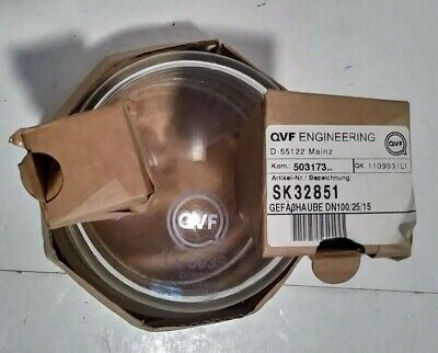 2-neck Reactor Vessel Lid Qvf Engineering Glass Sk32851 Duran M607611-460149
