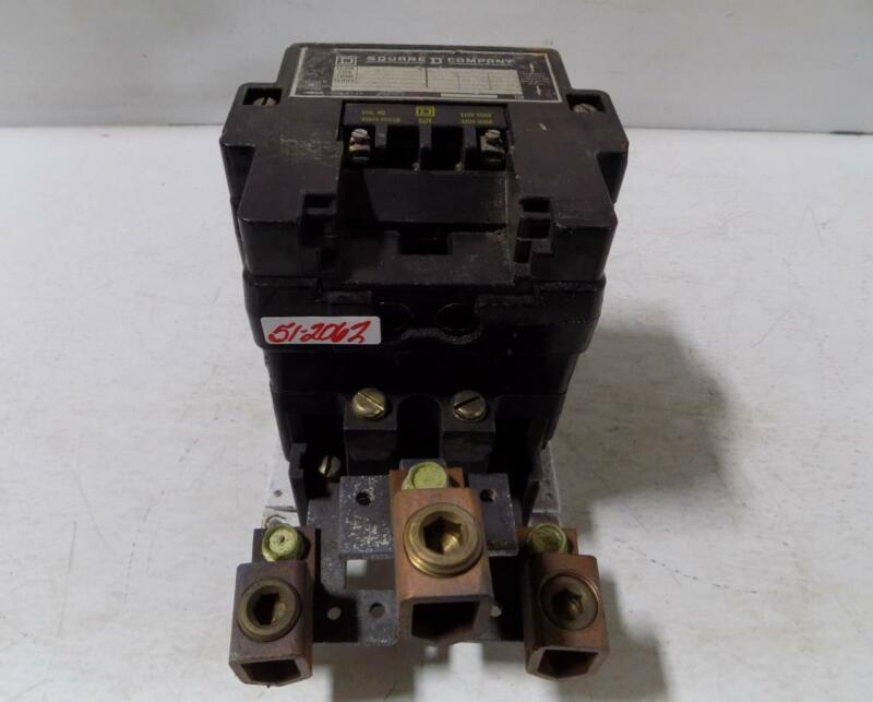 SQUARE D 132 AMP CONTACTOR 8910 SYD 138