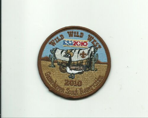 SCOUT BSA 2010 WILD WEST GAMEHAVEN RESERVATION 100TH ANNIVERSARY CONESTOGA WAGON
