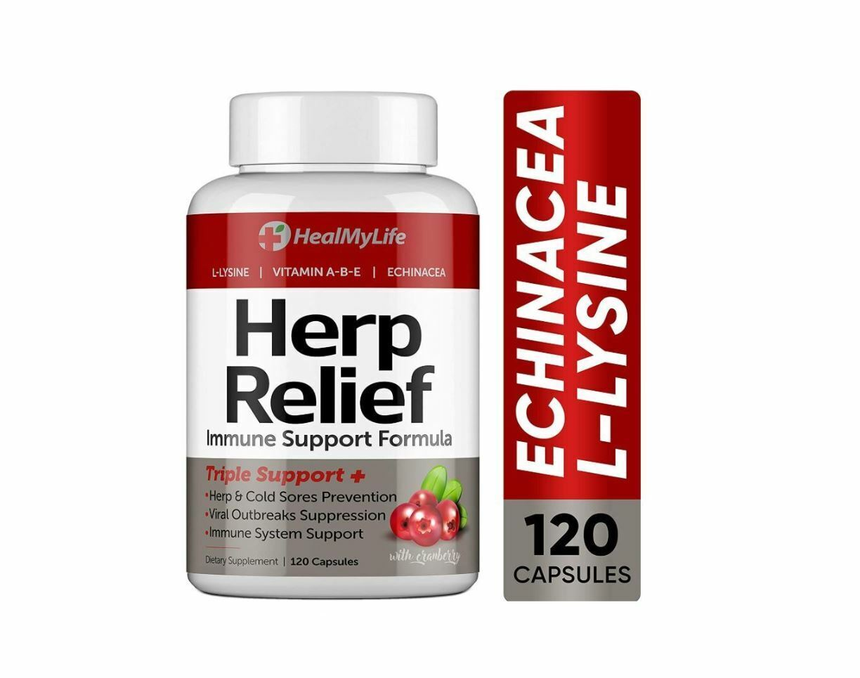 Herp Relief Treatment Clear Skin Fast of Herpes Cold Sores Shingles Exp 12/2022