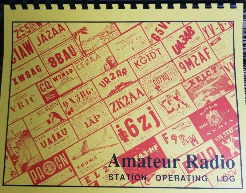 Ham / Amateur / Communications Radio Logbook - Paper Logbook