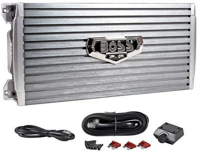Boss Armor Ar4000d 4000 Watt Mono Car Audio Class D Power Amplifier Amp   Remote