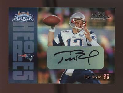2005 Playoff Prestige Super Bowl XXXIX Tom Brady 15/25 Auto Autograph