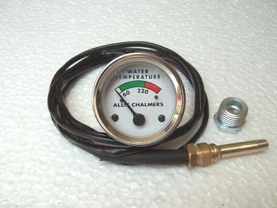 Water Temperature Gauge For Allis Chalmers Wd45 Dsl D10 D12 D14 D15 D17
