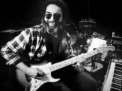 8x10 Print Jerry Garcia Grateful Dead #JG2