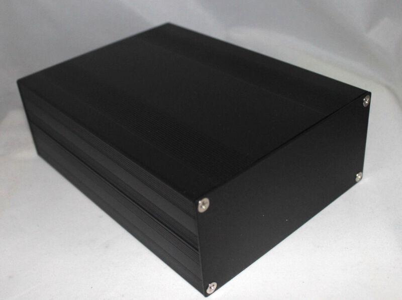 Black Aluminum Project Box Enclosure Case Electronic DIY 203x144x68mm US Stock
