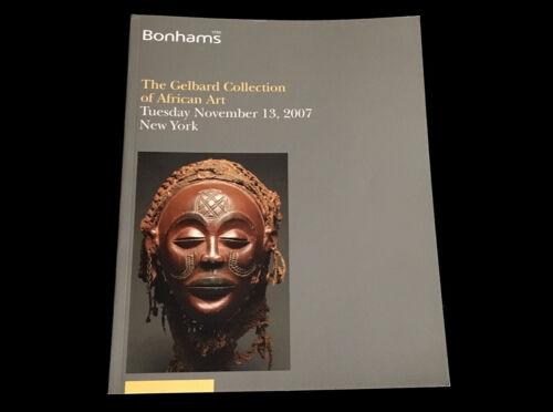GELBARD COLLECTION OF AFRICAN ART  BONHAMS  NOVEMBER 2007 DAN YORUBA FANG CHOKWE